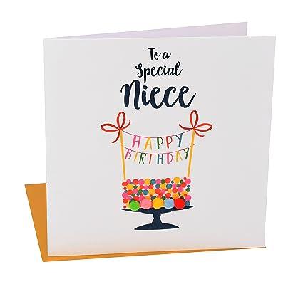 Amazon Pom Pomto A Special Niece Happy Birthday Greeting