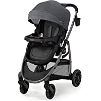 Graco Modes Pramette Stroller | Baby Stroller with True Bassinet Mode, Reversible Seat, One Hand Fold, Extra Storage…