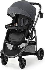 Graco Modes Pramette Stroller | Baby Stroller with True Bassinet Mode,