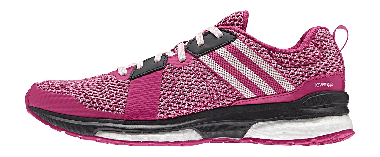 Adidas Revenge W, Zapatillas de Running para Mujer 36 2/3 EU Rosa / Blanco (Eqtros / Rolhal / Griosc)