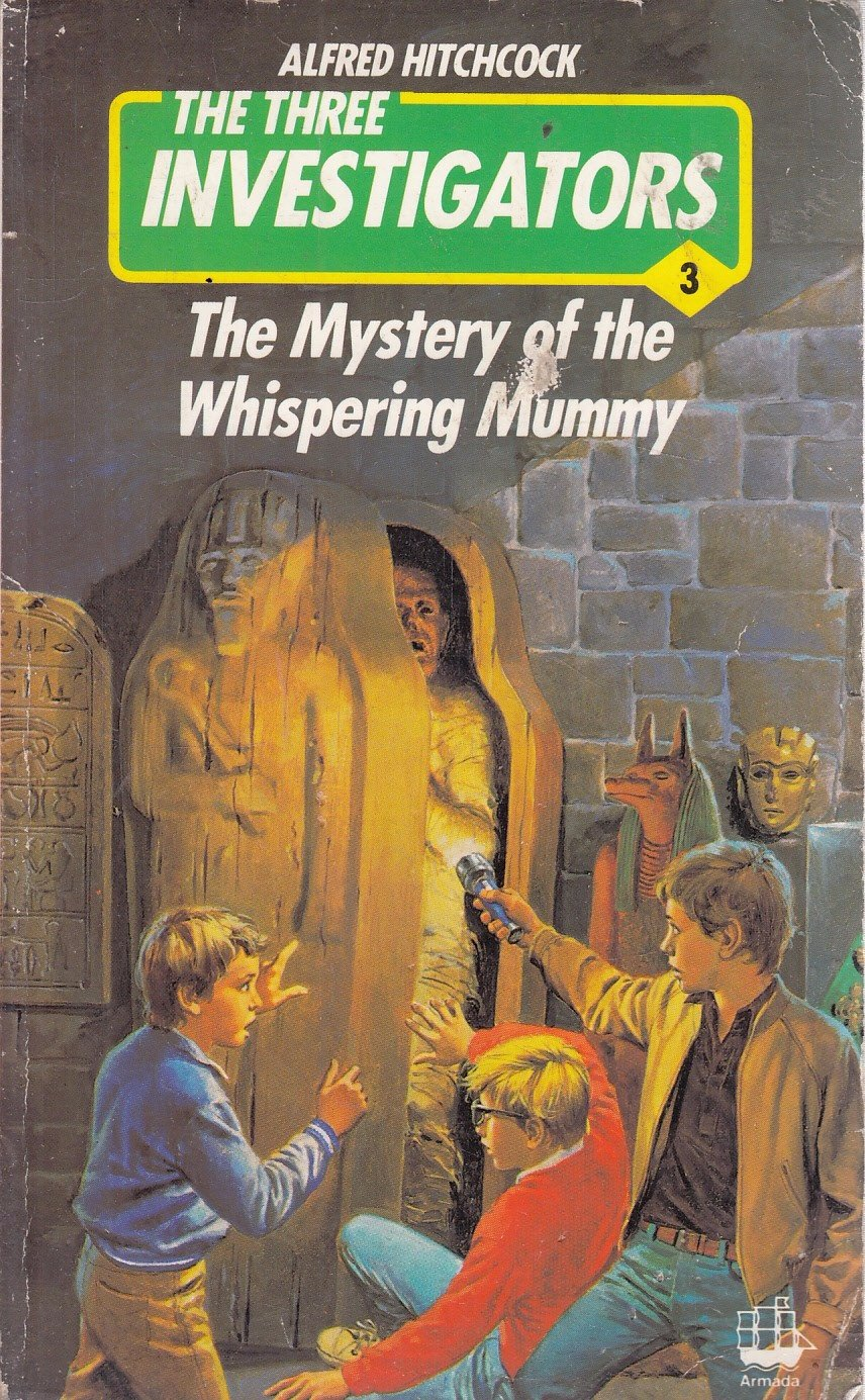 Whispering Mummy (Three Investigators Mystery)