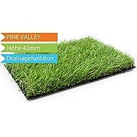 Kunstrasen Pine Valley mit Drainage-Noppen - MUSTER