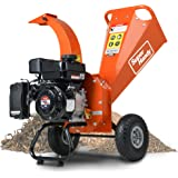 "SuperHandy Mini Wood Chipper Shredder Mulcher Heavy Duty 7HP 212cc Compact Design 3"" Inch Max Capacity"