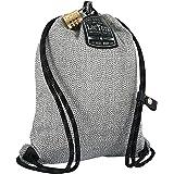 LOCTOTE Flak Sack Sport - Lightweight Theft-Resistant Drawstring Backpack   Lockable   Slash-Resistant   Portable Safe