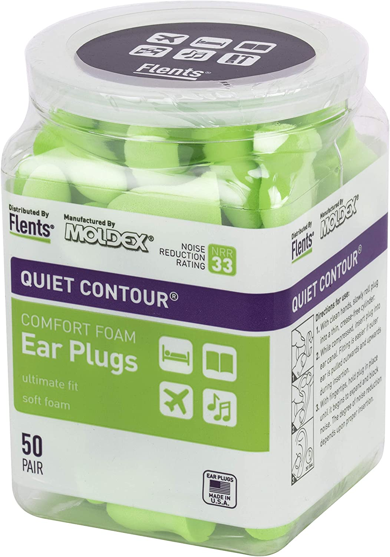 Flents 50 Pair NRR 33 Ear Plugs $11.99 Coupon