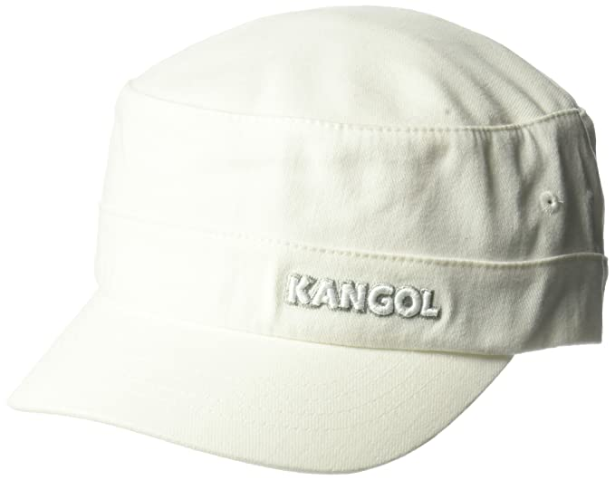 Kangol - Gorra del ejército de Sarga de algodón para Hombre 27866dc1ffe
