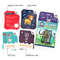 Redchimpz Wild Animals Age 3-10 Years Augmented And Virtual Reality Based Educational Game Flash Cards