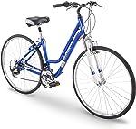 700c Royce Union RMY Womens 21-Speed Hybrid Comfort Bike, 17