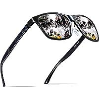 ATTCL Uomo Occhiali da sole polarizzati Montatura in metallo Super Light Al-Mg