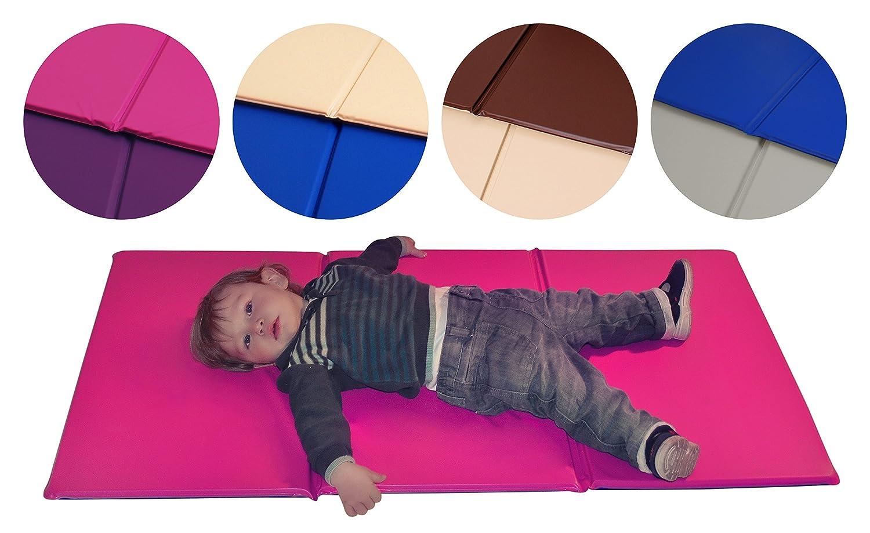 Baby Schlafunterlage–Beste Verkauf Matte, zum Schlafen, faltbar mit 1Jahr Herstellergarantie. Ideal für Babysitter auch.