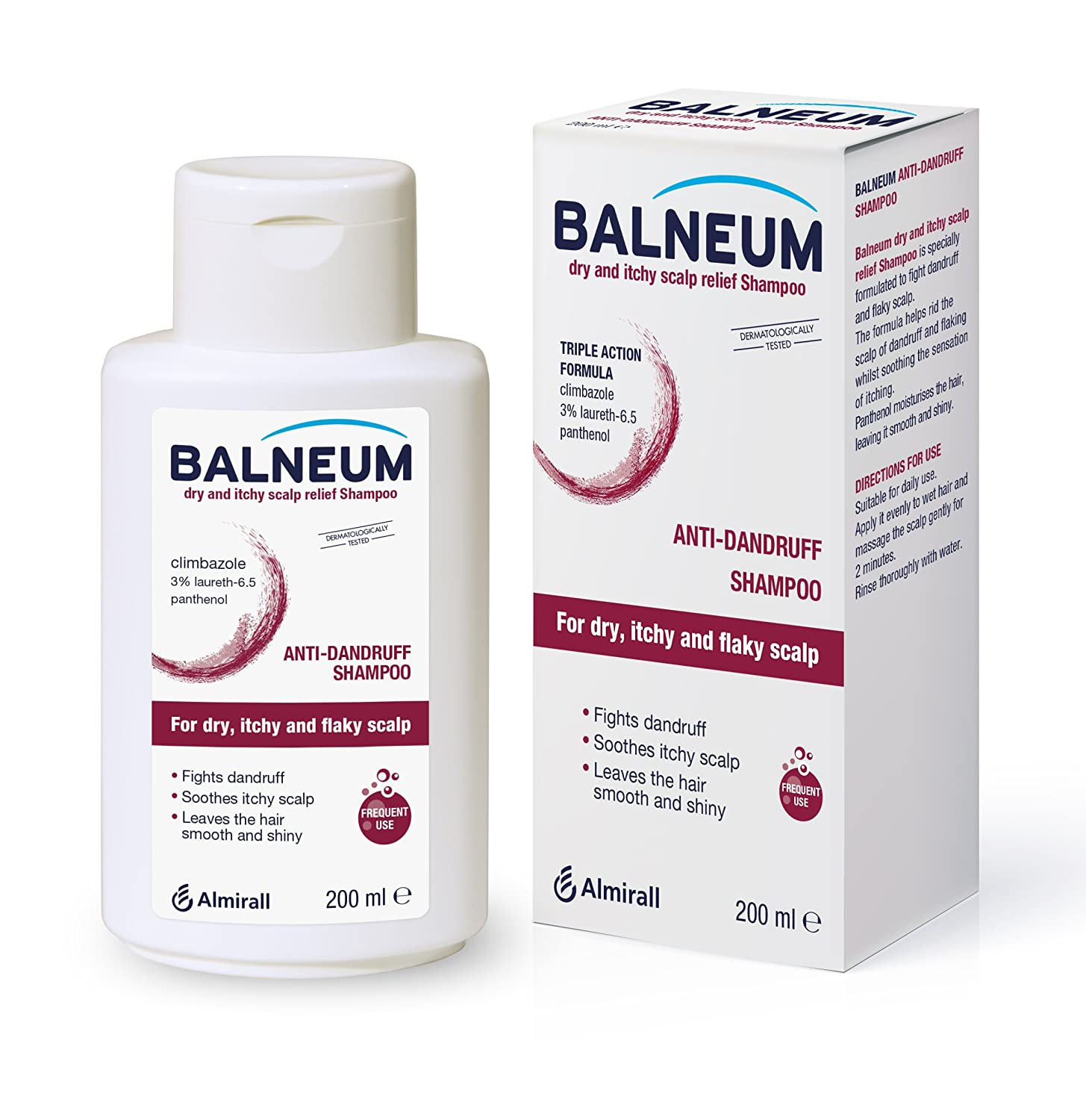 Balneum Dry and Itchy Scalp Relief Shampoo, 200 ml