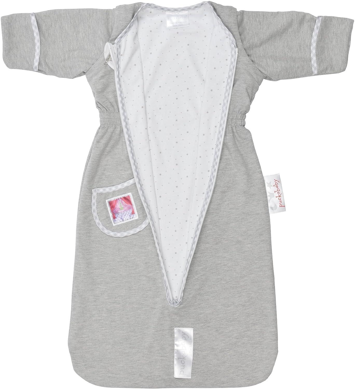 The Bag Newborn European Made Baby Sleep Bag, Sleeping Sack, White Star, 0-6 m Puckababy 759