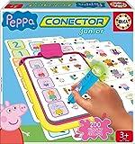 Peppa Pig - Conector Junior, juego educativo (Educa Borrás 16230)