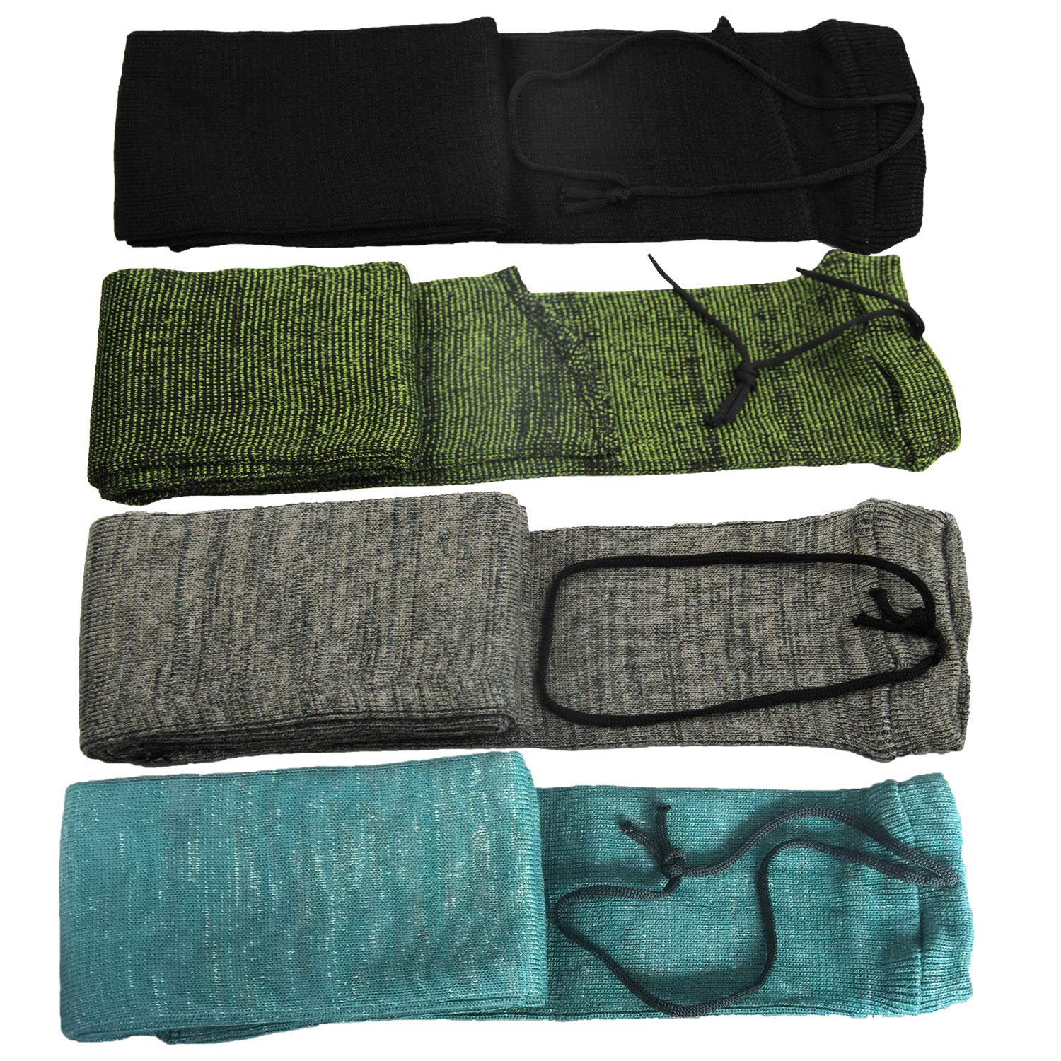 GUGULUZA Silicone Treated Knit Gun Socks 52'' for Rifles (Mixed Color) by GUGULUZA