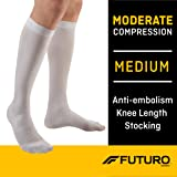 Futuro Anti-Embolism Knee Highs, Unisex, Moderate