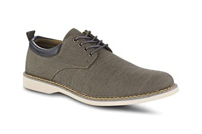 c13480114bbd Members Only Men's Chambray Oxford Classic Business Casual Shoes