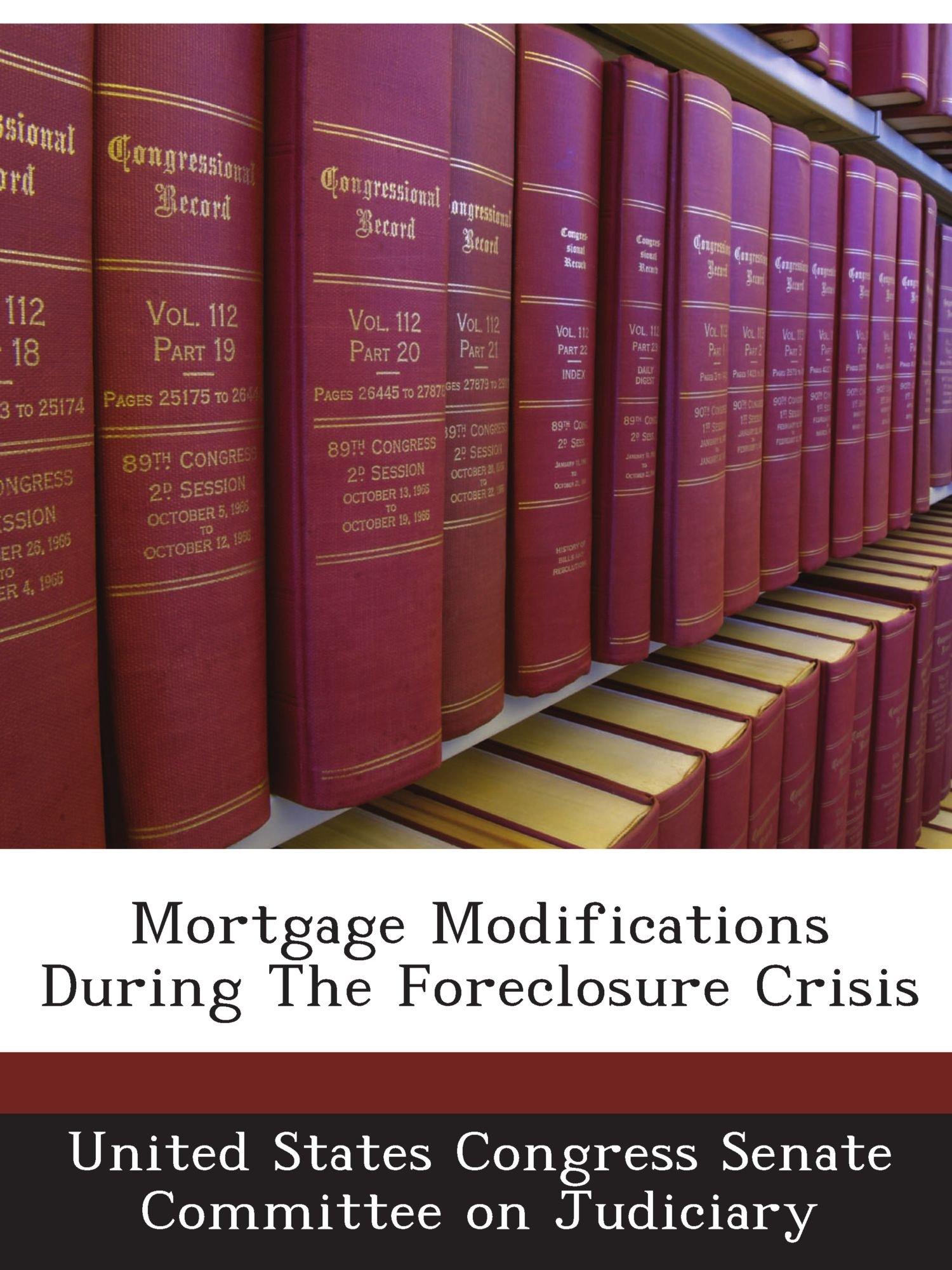 Read Online Mortgage Modifications During The Foreclosure Crisis pdf
