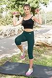 NIRLON Capri Leggings for Women High Waist