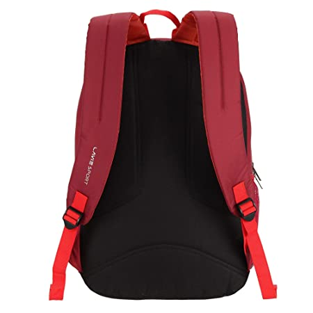 Lavie Sport 34 Ltrs Red School Backpack (BDEI210041N4)