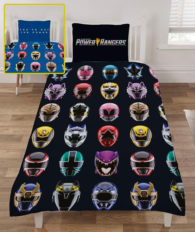 Power Rangers Ninja juego de funda de edredón de acero para ...