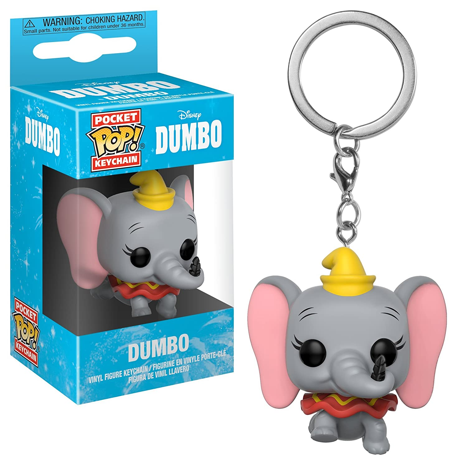 Funko Pop! Keychain: Dumbo - Dumbo Collectible Figure, Multicolor