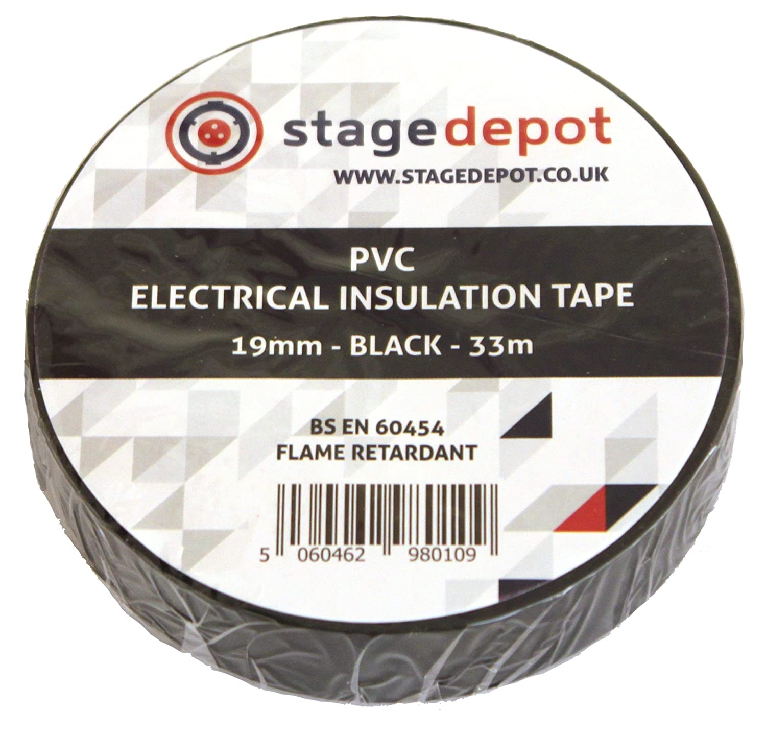 Stage Depot 19mm Pvc Lx Tape Black Diy Tools Electrical Insulation Wire With Certificate Of