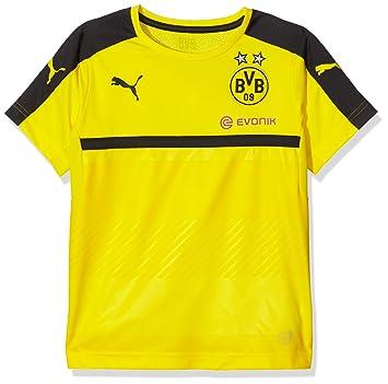 Puma BVB - Camiseta Deportiva para niño (del Equipo Borussia Dortmund) b5e2e03a3493c