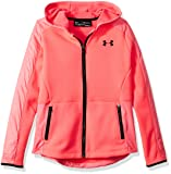 Under Armour Girls Swacket, Penta Pink (975)/Black, Youth X-Small