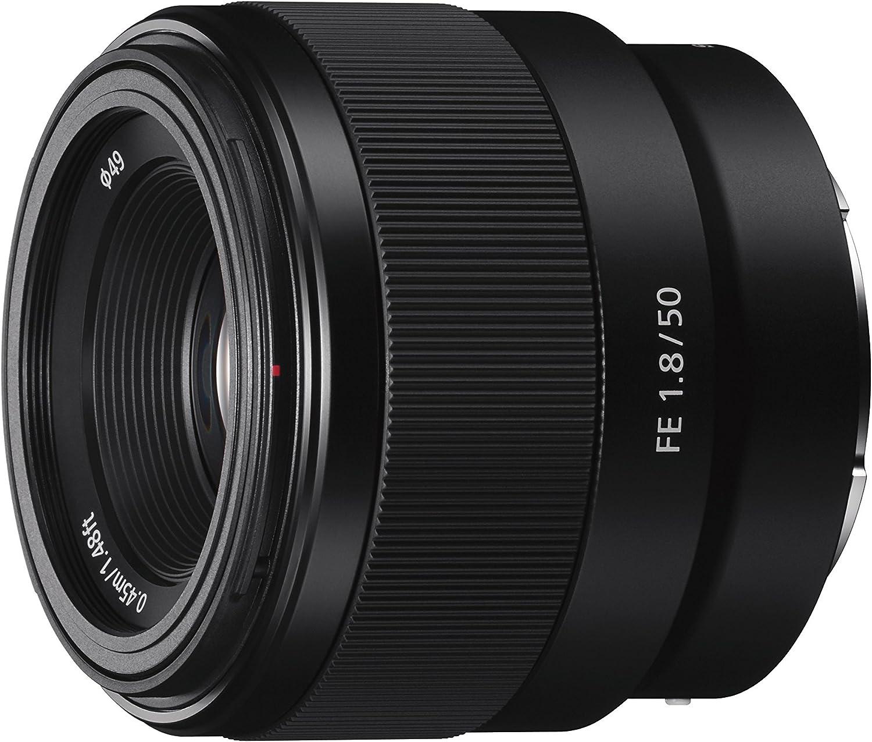 Sony – FE 50mm F1.8 Standard Lens (SEL50F18F)