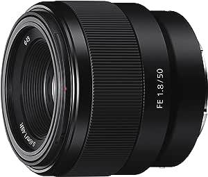 Sony - FE 50mm F1.8 Standard Lens (SEL50F18F), Black
