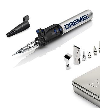 Dremel VersaTip - Soldador multifuncional (6 en 1, incluye 4 puntas adicionales para pirograbado, funciona con butano): Amazon.es: Bricolaje y herramientas
