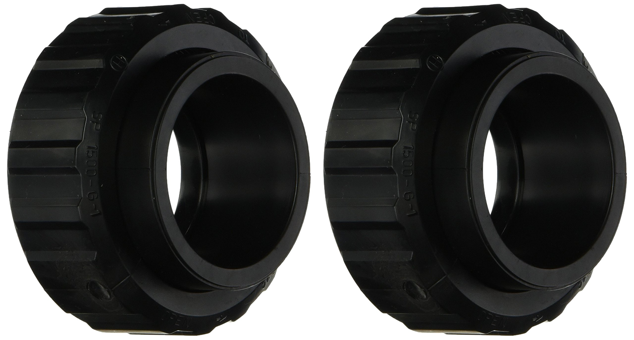 Hayward SP1500UNPAK2C 1-1/2-Inch Socket by 2-Inch SLIP Flush Union Connectors Pak Replacement for select Hayward Pumps/Filters and Chlorine Feeders