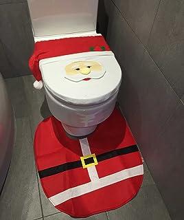 Santa Toilet Seat Cover Mat
