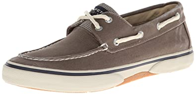 Sperry Top-Sider Men's Halyard 2-Eye Lace-Up,Chocolate/Honey