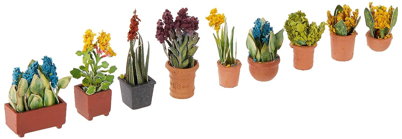 【コンビニ受取対応商品】 Walthers SceneMaster Potted Ornmntl Walthers Plants Potted (9-Pack) Ornmntl B00IX3WUQI, カシマグン:0fc38b1c --- a0267596.xsph.ru
