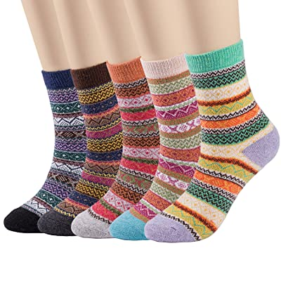EMEM Apparel Girls/' Flat Knit Bamboo Cotton Sweater Winter Footed Tights