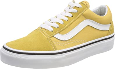 | Vans Mens Old Skool Casual Sneakers, Orange