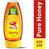 Dabur 100% Pure Honey Squeezy Pack 400g (Buy 1 Get 1 Free)