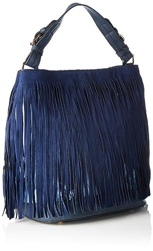Boscha Sacs Portés Main FemmeBleuBleu (Midnight Blue), 26x31x19 cm (B x H x T)