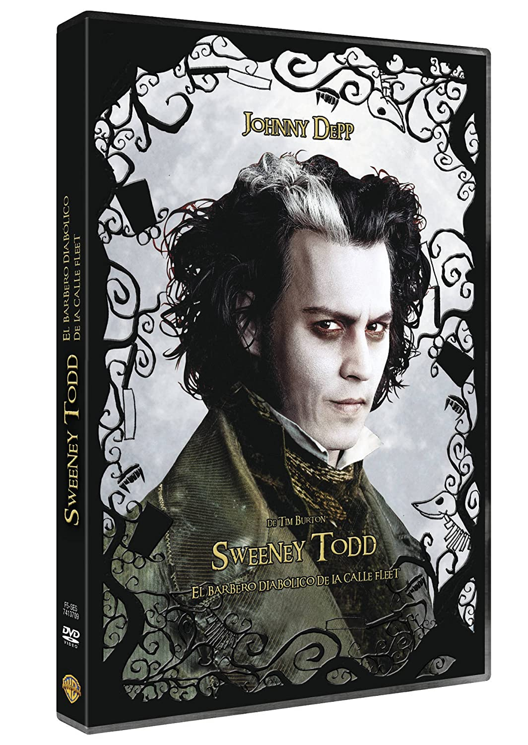 Sweeney Todd [DVD]: Amazon.es: Johnny Depp, Helena Bonham Carter ...