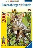 Ravensburger 12753 - Bezauberndes Kätzchen - 200 Teile XXL Puzzle