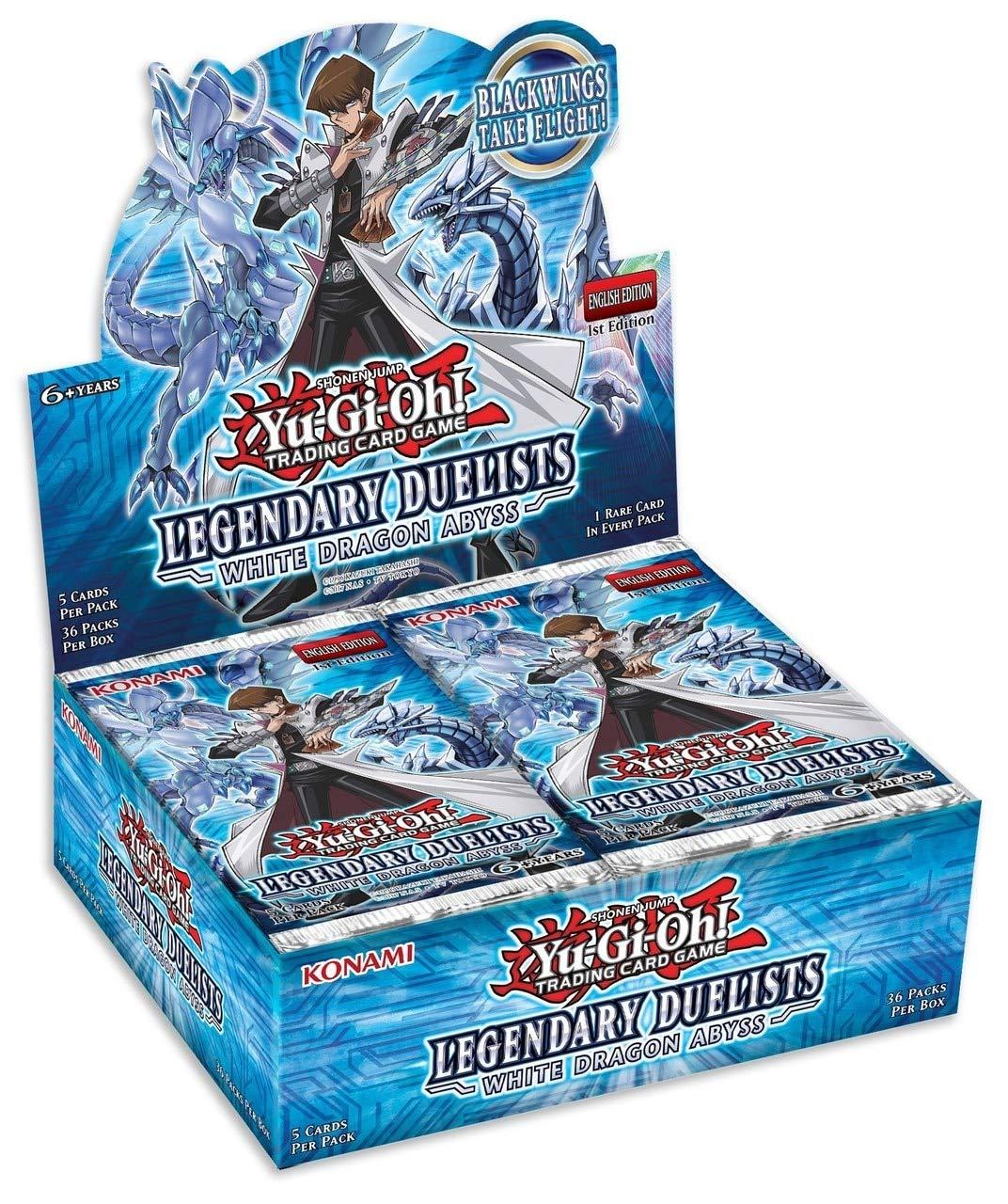 YU-GI-OH! Legendary Duelists: White Dragon Abyss Booster Box Konami