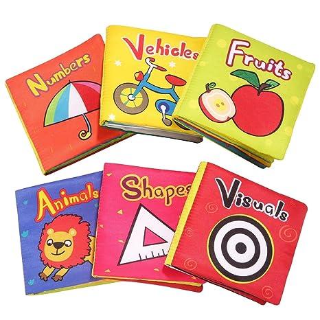Top Bright Baby Toys 6 A 12 Mois Livre De Bebe Doux