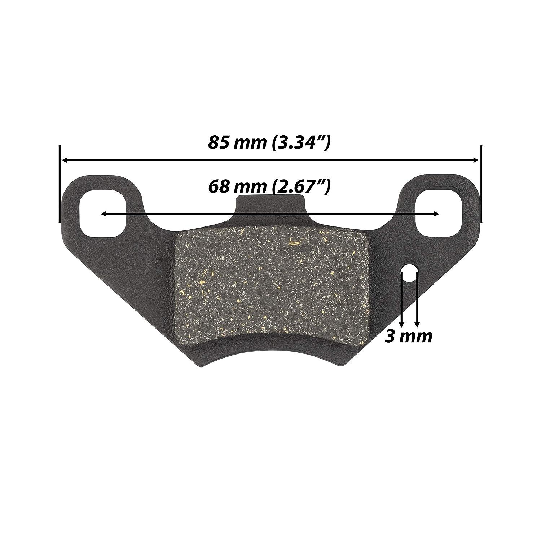 Rear Disc Brake Pad Shoes for TaoTao Four Wheelers ATV 110cc ATA-110B1 J4TWENE ATA110B1 DP1 ATA 110 B1 ATA110-B1