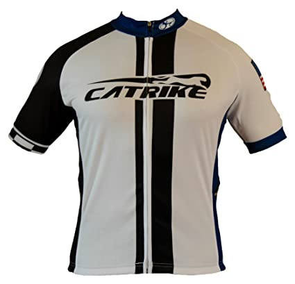 Amazon.com   Catrike Team Recumbent Cycling Jersey with Easy Pull ... e621473f9