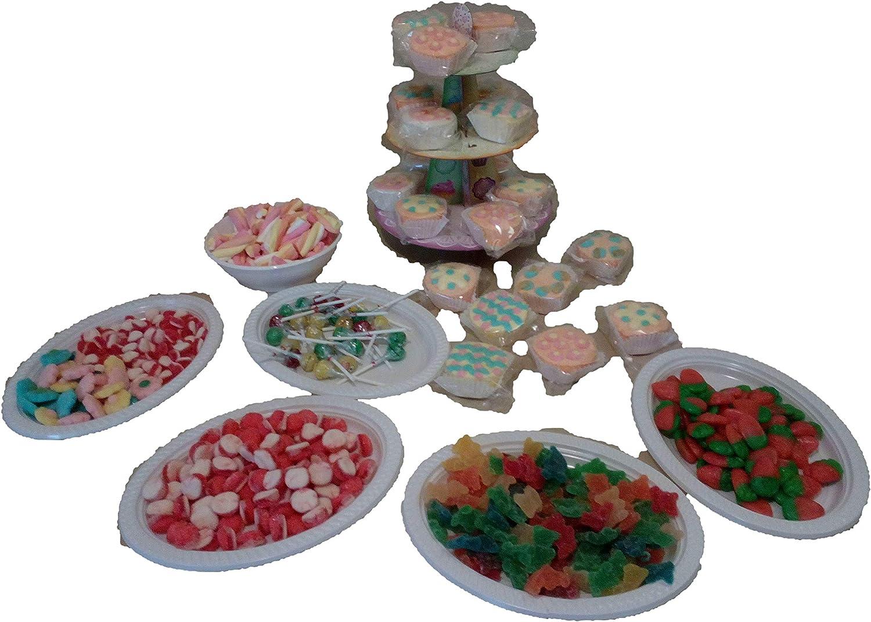 ALMACENESADAN 9974, Candy Bar, Mesa Dulce, 3.300 Gramos.: Amazon ...
