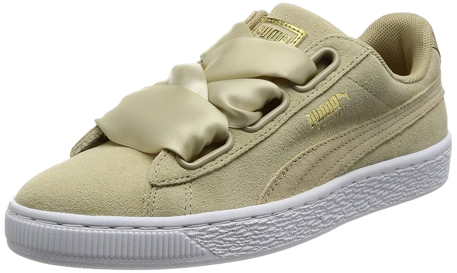 buy popular 55840 f0afd Amazon.com | PUMA Women's Suede Heart Safari Low-Top ...