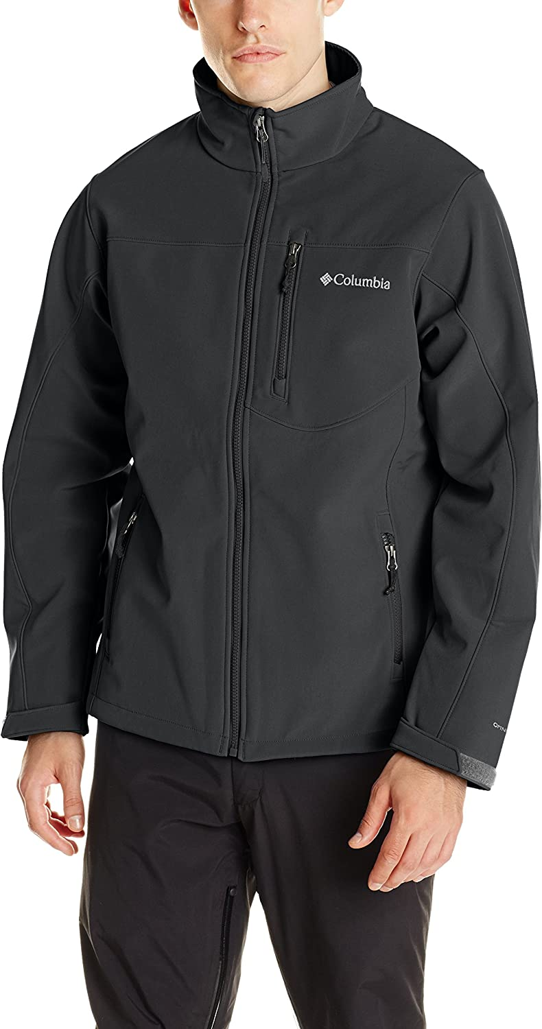 Columbia Men's Prime Peak Softshell Jacket, Windproof: COLUMBIA: Clothing