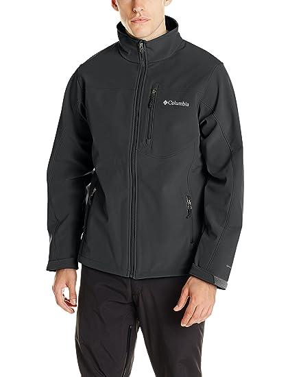 Columbia Men's Prime Peak Softshell Jacket, Black, Small
