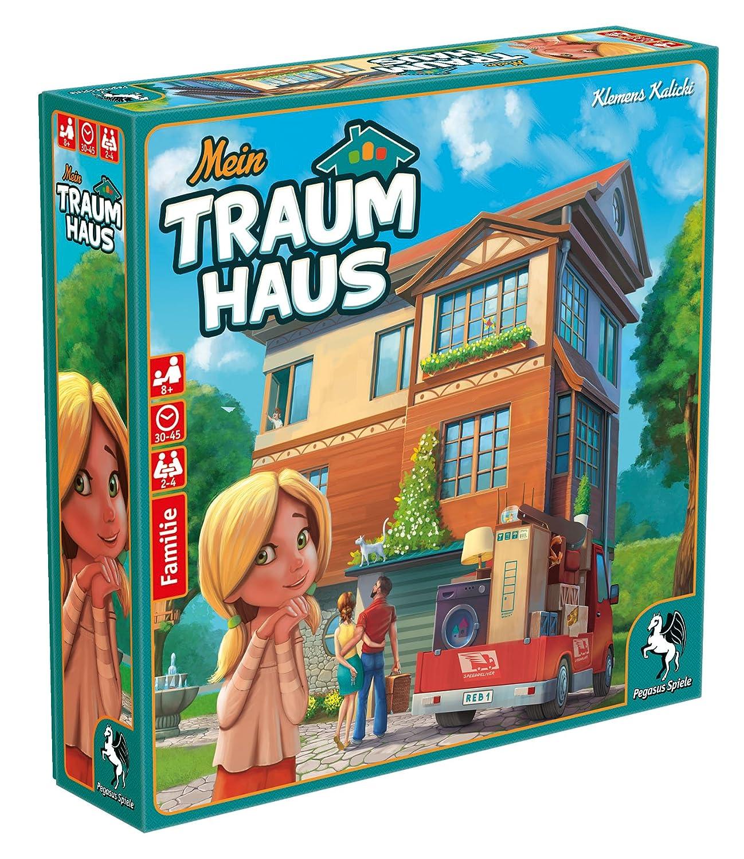 Pegasus Spiele 51220g Mein Traumhaus Board Game Amazon Co Uk Toys